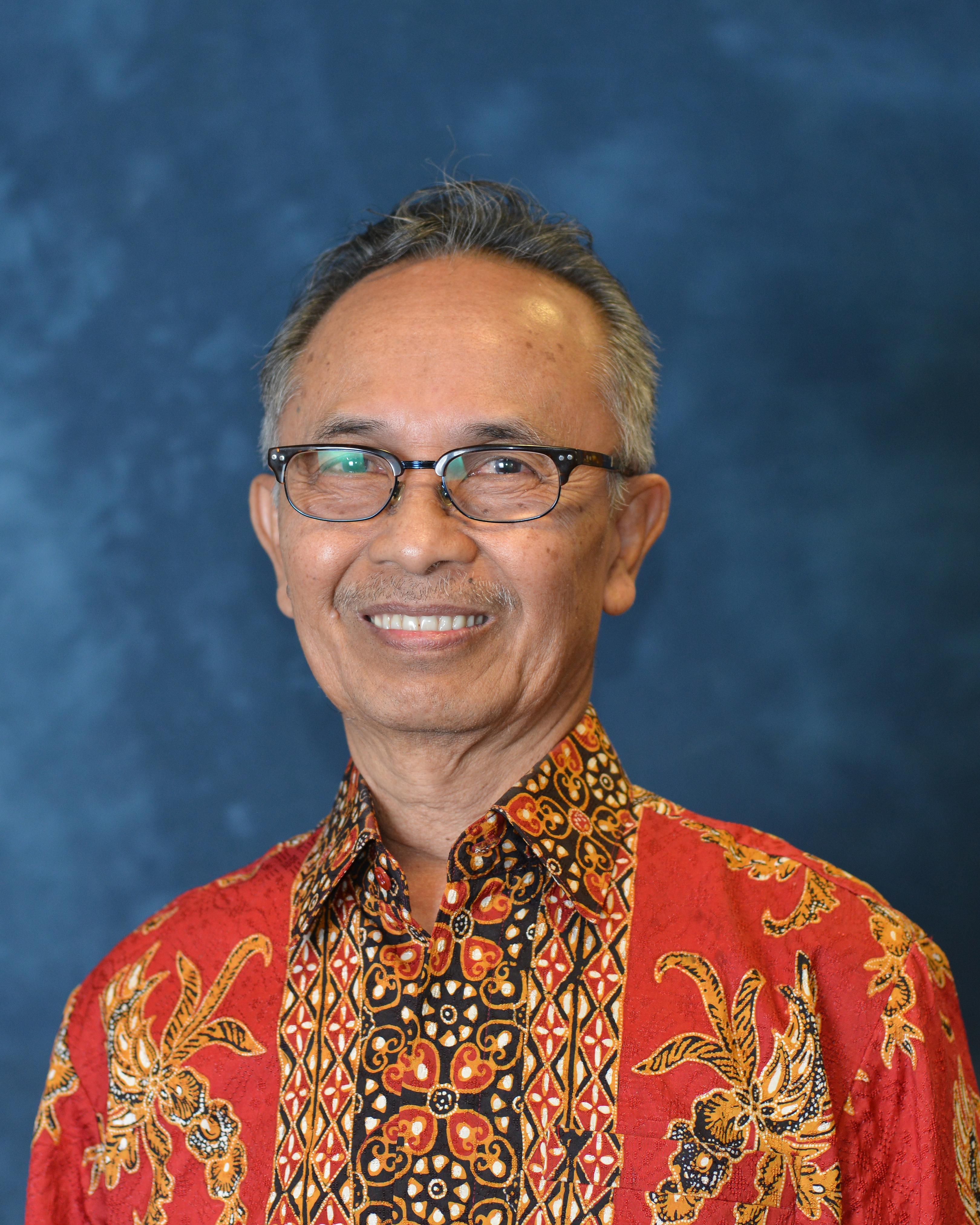 Wesleyan portrait of Prof.  Sumarsam