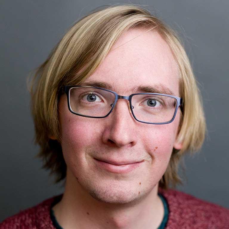 Wesleyan portrait of Alex  Kruckman
