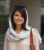 Wesleyan portrait of Maryam  Gooyabadi